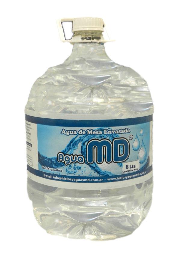 Agua de mesa 6 litros MD